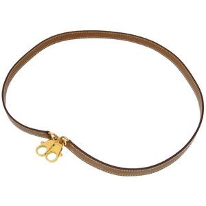 Hermès Vaud Chamonix Natural Gold fittings shoulder straps strap 0196 HERMES