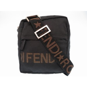 Fendi shoulder bag vintage black 0158 FENDI