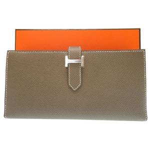 Hermes Baren Sufre length wallet Vaud Epson Etuope C Engraved 2018 0207 HERMES Women's