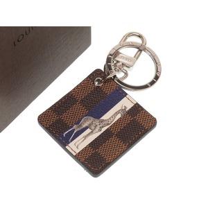 Louis Vuitton Damier Illrestre Savine Giraffe Chapman M62720 Key Holder LV 0031 LOUIS VUITTON