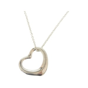 b195908acc4 Tiffany Open Heart 925 Silver Necklace Accessory 0169 TIFFANY