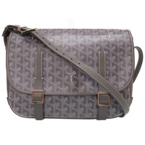 Goyar Belvedere MM PVC gray shoulder bag 0311 GOYARD