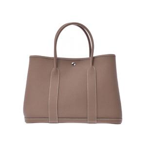 2475d99ddb03 Hermes Garden Party 36 Etoup SV Metallurgy C Engraved Ladies Negonda  Handbags New Articles HERMES Boxes