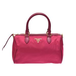 Prada 2WAY mini Boston pink system 1BB797 ladies nylon leather
