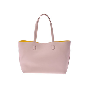 Dior Blossom Tote Bag Pink / Yellow Ladies Leather A Rank CHRISTIAN DIOR Pouch Galler Used Ginza