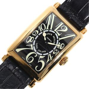Frank Muller FRANCK MULLER Long Island 902QZ Quartz golden black ladies watch