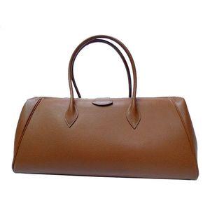 Hermes Unisex Vache Liegee Leather Tote Bag Noisette