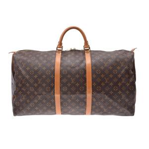 ルイ・ヴィトン(Louis Vuitton) ルイヴィトン モノグラム キーポル60 ブラウン M41422 メンズ レディース 本革 ボストンバッグ Bランク LOUIS VUITTON 中古 銀蔵