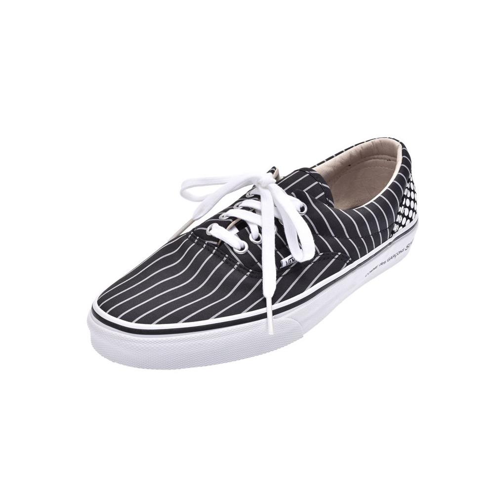Supreme × Comme des Garcons Buns ERA Black Size US 8.5 Men's Collaboration Sneaker Unused Mint SUPREME VANS COMM DES GARCON Used Ginza