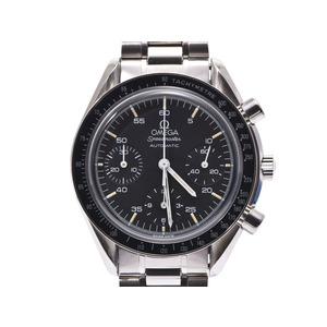Omega Speedmaster black letter board 3510.50 Men's SS automatic winding wristwatch AB rank OMEGA Galler Used silver storage