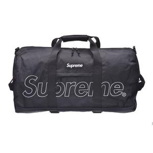 シュプリーム(Supreme) シュプリーム DUFFLE BAG 18FW 黒 メンズ レディース ポリエステル ダッフルバッグ ボストンバッグ 未使用 美品 Supreme 中古 銀蔵