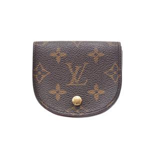 ルイ・ヴィトン(Louis Vuitton) ルイヴィトン モノグラム グゼ ブラウン M61970 メンズ レディース 本革 コインケース 小銭入れ Bランク LOUIS VUITTON 中古 銀蔵