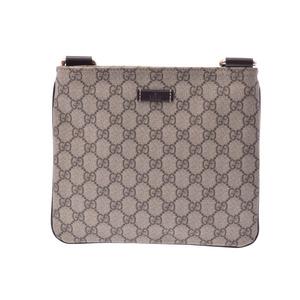 Gucci GG plus shoulder bag beige ladies' men's PVC new same beauty goods GUCCI secondhand silver store