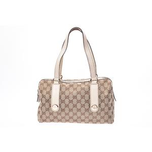 Gucci GG Canvas Girls,Women Leather Handbag