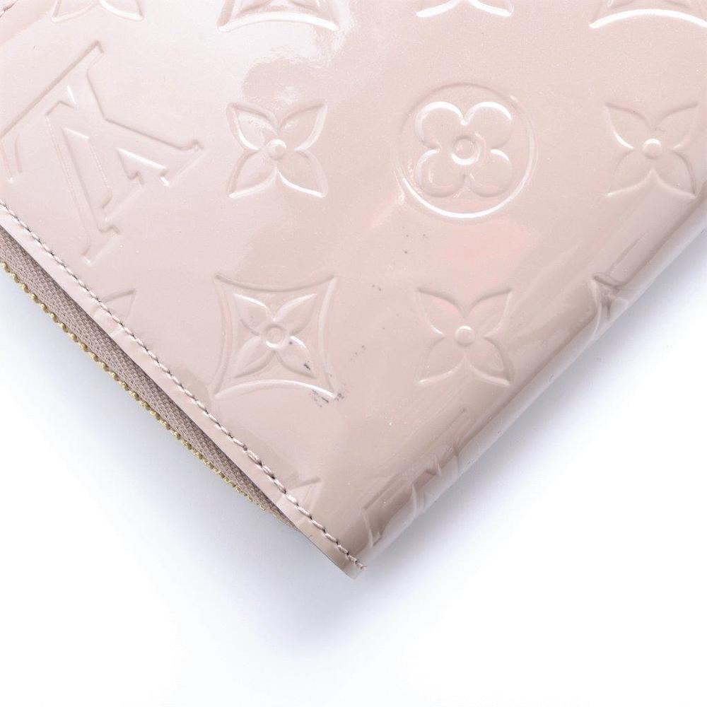 ルイ・ヴィトン(Louis Vuitton) モノグラムヴェルニ ジッピーウォレット レディース パテントレザー 財布 ガレ