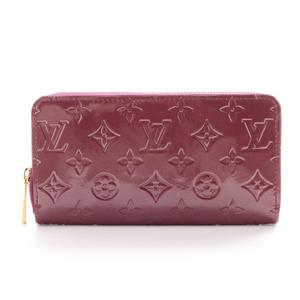 Louis Vuitton Monogram Vernis Zippy Wallet Women's Monogram Vernis Wallet Monogram,Purple,Violet