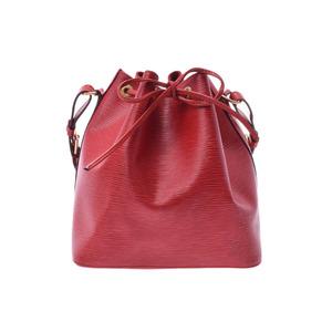 ルイ・ヴィトン(Louis Vuitton) ルイヴィトン エピ プチノエ 赤 M5901E レディース 本革 ワンショルダーバッグ ABランク LOUIS VUITTON 中古 銀蔵