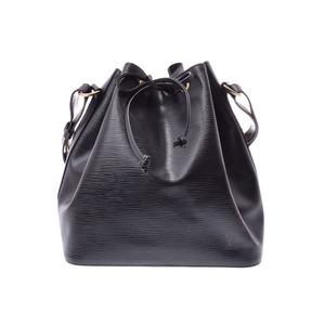 ルイ・ヴィトン(Louis Vuitton) ルイヴィトン エピ プチノエ 黒 M59012 レディース 本革 ショルダーバッグ ABランク LOUIS VUITTON 中古 銀蔵