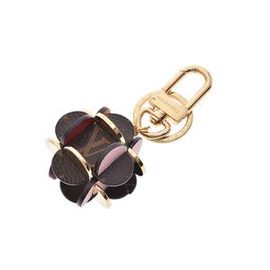 Louis Vuitton Porte Cles Flowering Bag Charm Flowering M67289 Women's GP Genuine leather key holder
