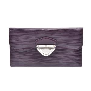 Louis Vuitton Epi Porto Foyu Ugeni Casis M6388K Ladies leather wallet B rank LOUIS VUITTON second hand silver storage