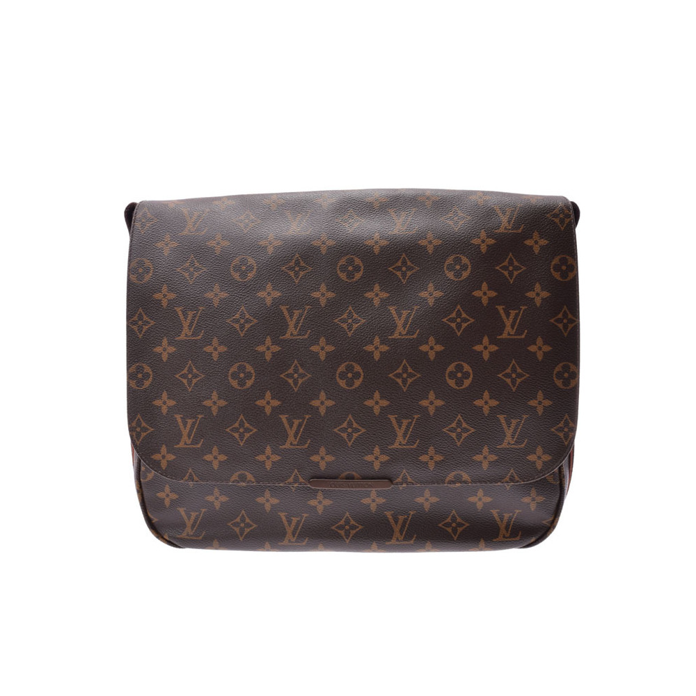 Louis Vuitton Monogram Messenger Bobur MM Brown M97038 Men s Women s Genuine  Leather Shoulder Bag AB Rank LOUIS VUITTON Used Ginza bbbf52434