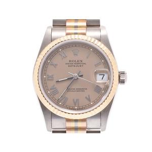 ROLEX Datejust 68279 18K Gold 18K Pink Gold 18K White Gold Automatic Ladies Watch