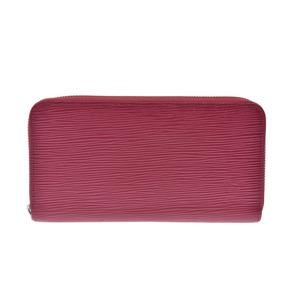Louis Vuitton Epi Zippy Wallet Cassis Old M6007K Ladies Men's Genuine Leather B Rank LOUIS VUITTON Used Ginza