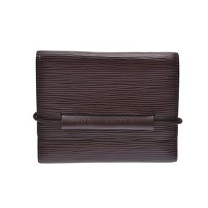 ルイ・ヴィトン(Louis Vuitton) ルイヴィトン エピ ポルトフォイユ エラスティック モカ M6346D メンズ レディース 本革 三ツ折財布 Bランク LOUIS VUITTON 中古 銀蔵