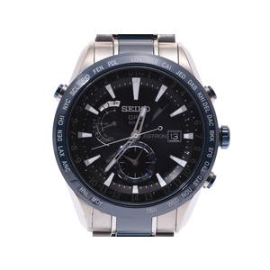 セイコー アストロン SBXA019 メンズ セラミック TI ソーラーGPS 腕時計 ABランク SEIKO 箱 空ギャラ 中古 銀蔵