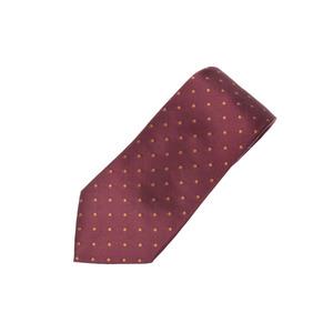 Louis Vuitton necktie dot pattern engine system Men's silk 100% AB rank LOUIS VUITTON second hand silver storage