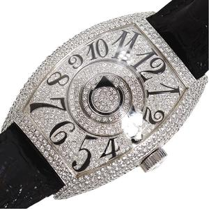 Frank Muller FRANCK MULLER Towa carvex double mystery 8880DMDCD Automatic winding WG Solid Diamond Men's Watch