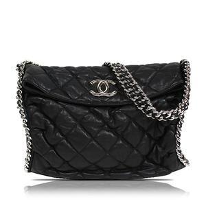 Chanel CHANEL chain shoulder bag Calfskin Black