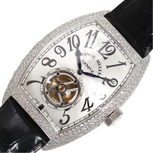 Frank Muller FRANCK MULLER Towa Carbex Tourbillon 8880TD hand winding WG Solid Diamond Men's Watch