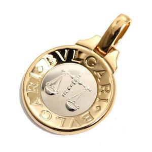 Bvlgari BVLGARI Horoscope Charm Libra K18YG Pendant top jewelly finished
