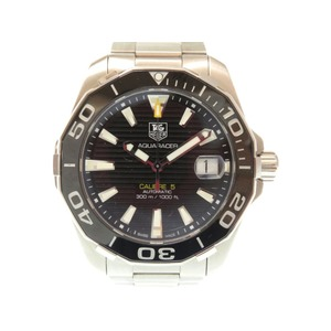 TAG Heuer Divers Aqua Racer Caliber 5 WAY 211 A Self-Winding Mens Watch Black Letter 0069 HEUER