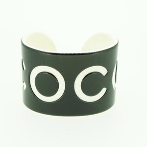 シャネル バングル COCO プラスチック ブラック