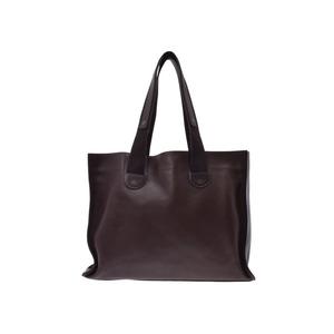 Louis Vuitton Uta Mohikon M92531 Men's Women's Genuine Leather Tote B Rank LOUIS VUITTON Used Ginza