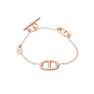 HERMES Farandole PM bracelet Women's PG 12.4 g box warranty card used ginza