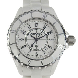 Genuine CHANEL Chanel J12 Boys Quartz Watch White Dial Part number: H0968