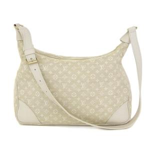 Genuine LOUIS VUITTON Louis Vuitton Minilan Boulogne Dunne Bag Leather