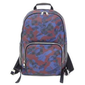 Genuine article LOUIS VUITTON Louis Vuitton Cobalt Andy backpack rucksack black navy blue series pattern number: N41509 bag leather