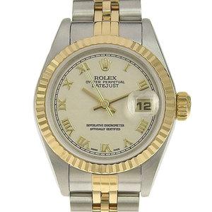 Real ROLEX Rolex Datejust Ladies Audemars Watches Model Number: 79173 Y Series