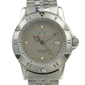 Real TAG HEUER Heuer Professional Men's Quartz Wrist Watch Model Number: WD1211