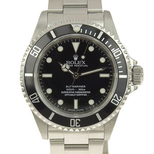 Real ROLEX Rolex Submariner Non-Date Men's Automatic Watch Model Number: 14060 M Series