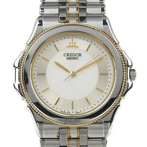 Genuine SEIKO Seiko Credor Pacifike Mens Quartz Wrist Watch Model Number: 8J81-6A20