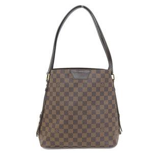 Genuine Louis Vuitton Damier Cover · Livington Tote Bag Ebene Model Number: N41108 Leather