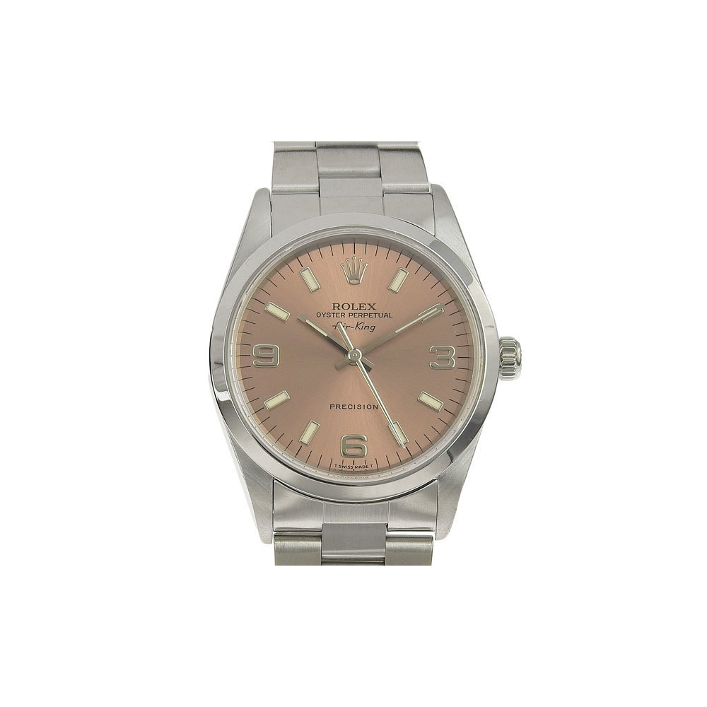 Real ROLEX Rolex Air Men's Automatic Watch Model No .: 14000 U