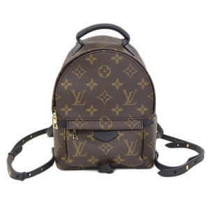 Real LOUIS VUITTON Louis Vuitton Monogram Palm Springs Backpack MINI Model Number: M41562 Bag Leather