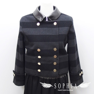 Louis Vuitton border pattern short jacket size 3420181211