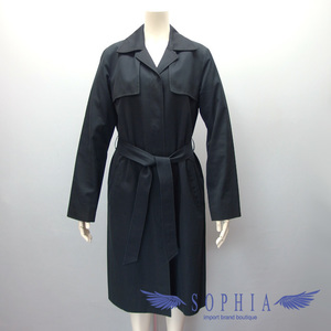 Burberry trench coat size 38 black 201809262